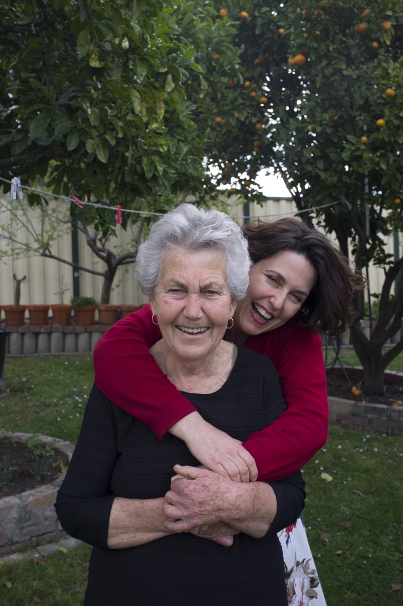 Spiri and Mum